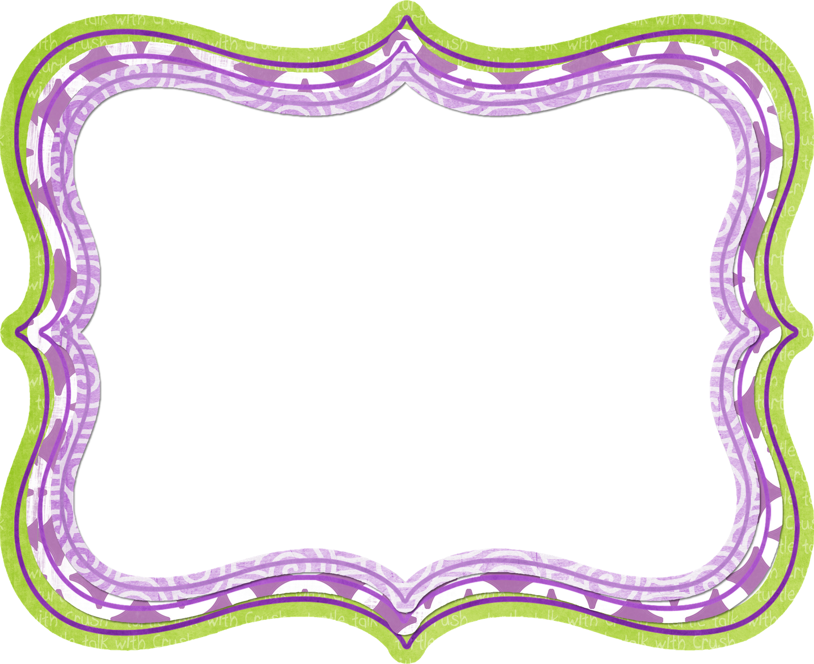 7 Images of Free Printable Purple Borders And Frames