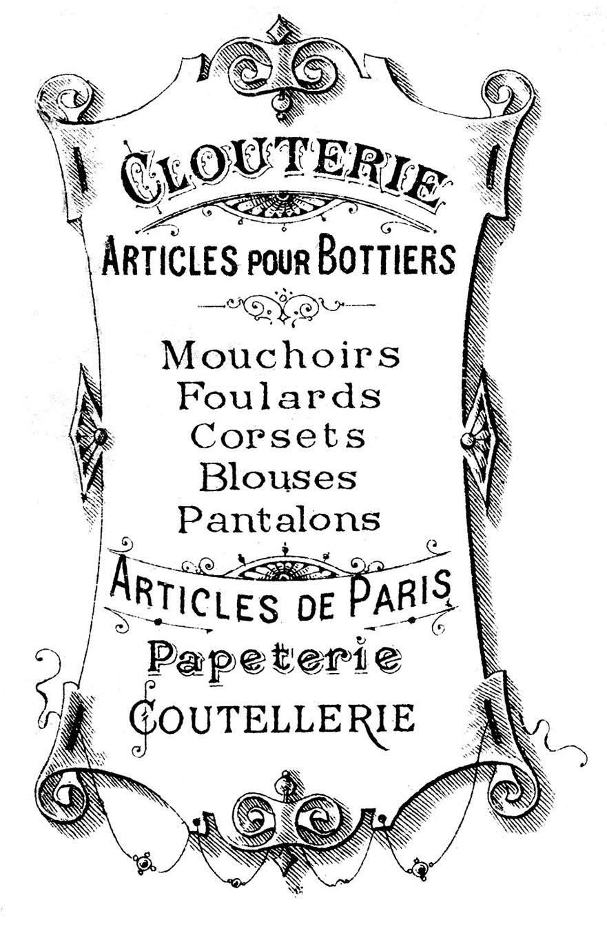 Free Printable French Graphics