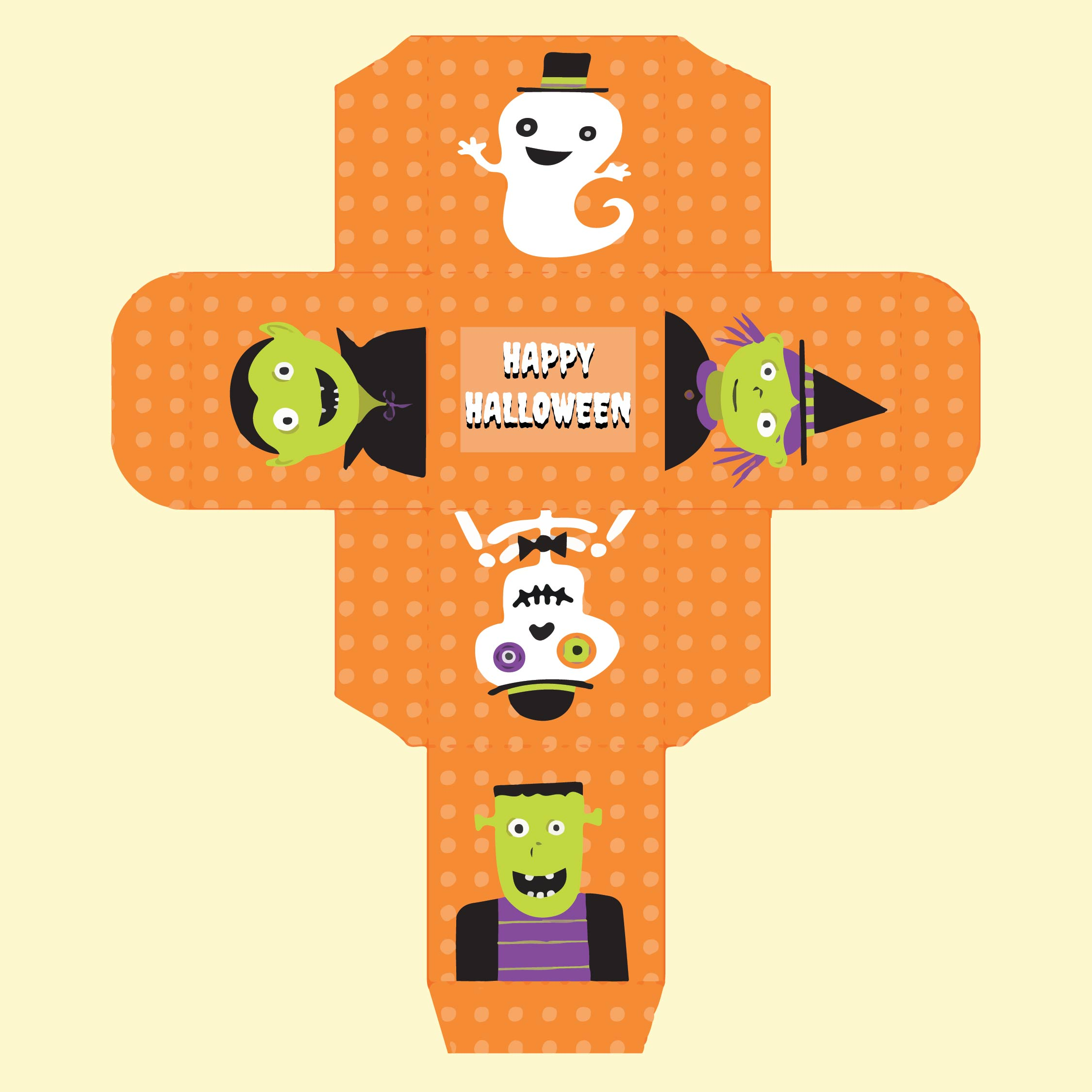 7 Images of Free Printable Halloween Boxes