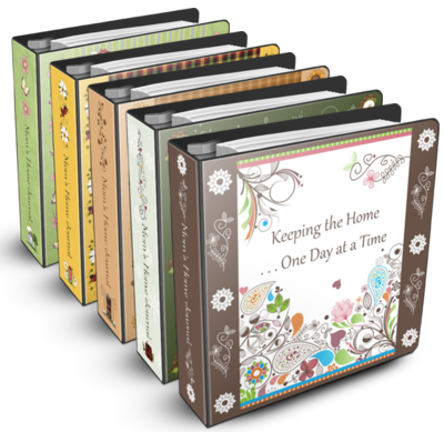 5 Images of Printable Household Notebook Cover