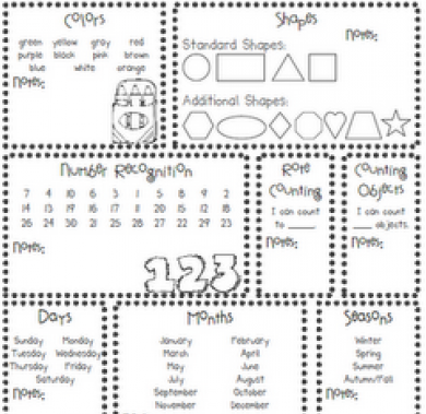5 Images of Free Printable Kindergarten Assessment Test