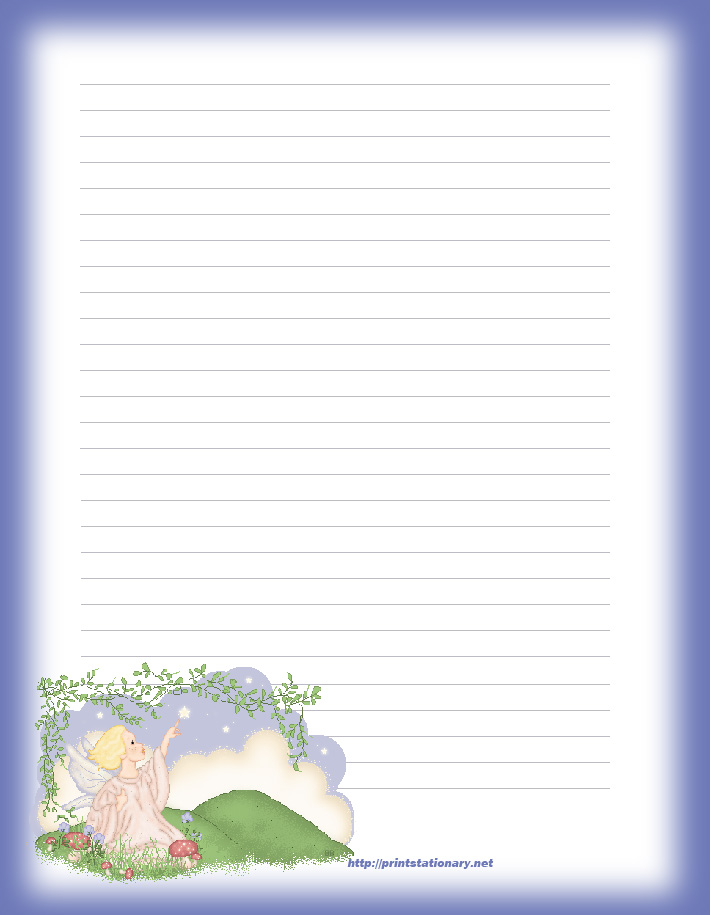 Free Printable Letter Writing Paper