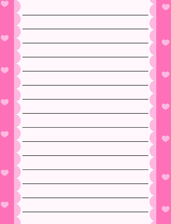 9 Best Images of Free Printable Spring Writing Paper ...