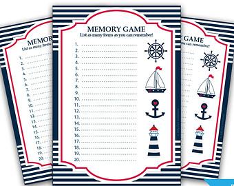 nautical baby shower games and nautical baby shower word scramble game