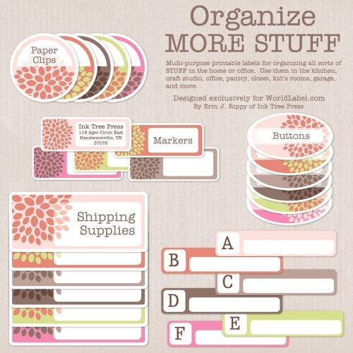 Free Printable Organizing Label Templates