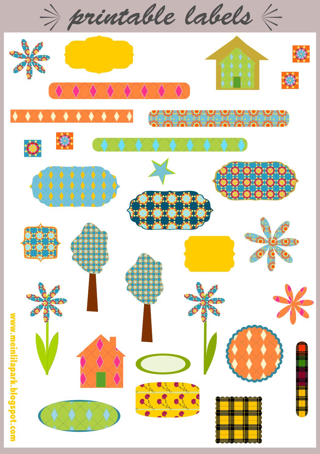 Free Printable Scrapbooking Embellishments
