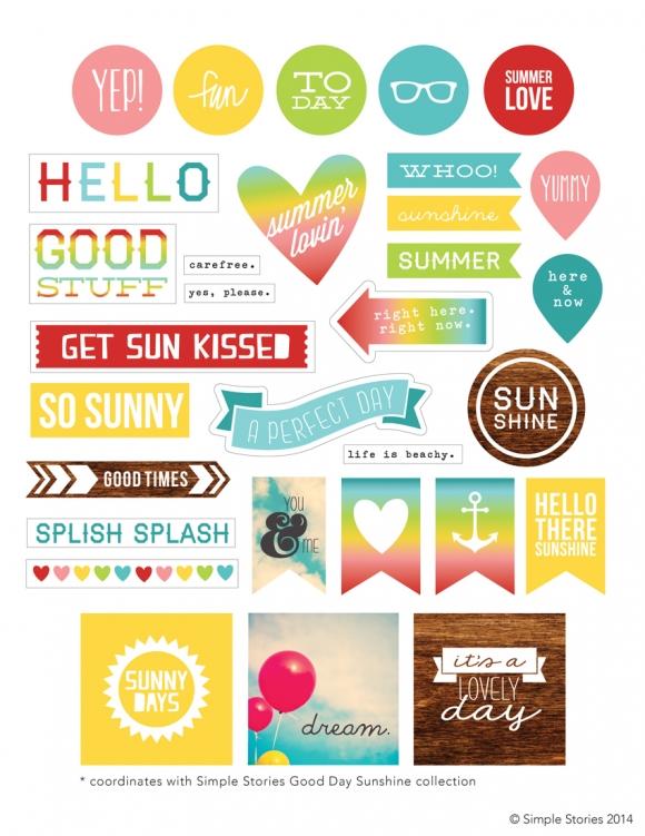 Free Printable Simple Stories