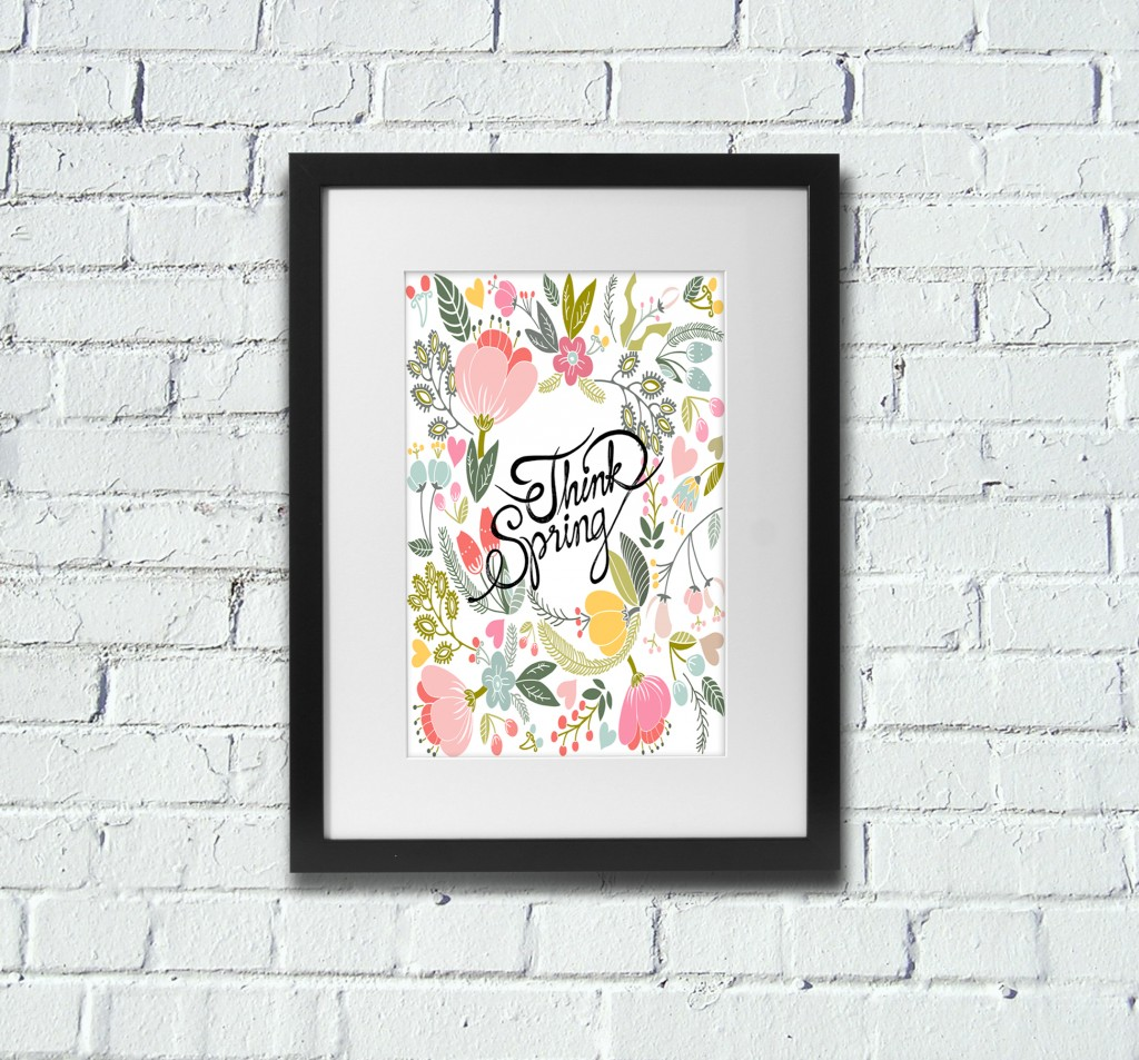 4 Images of Free Printable Spring Art