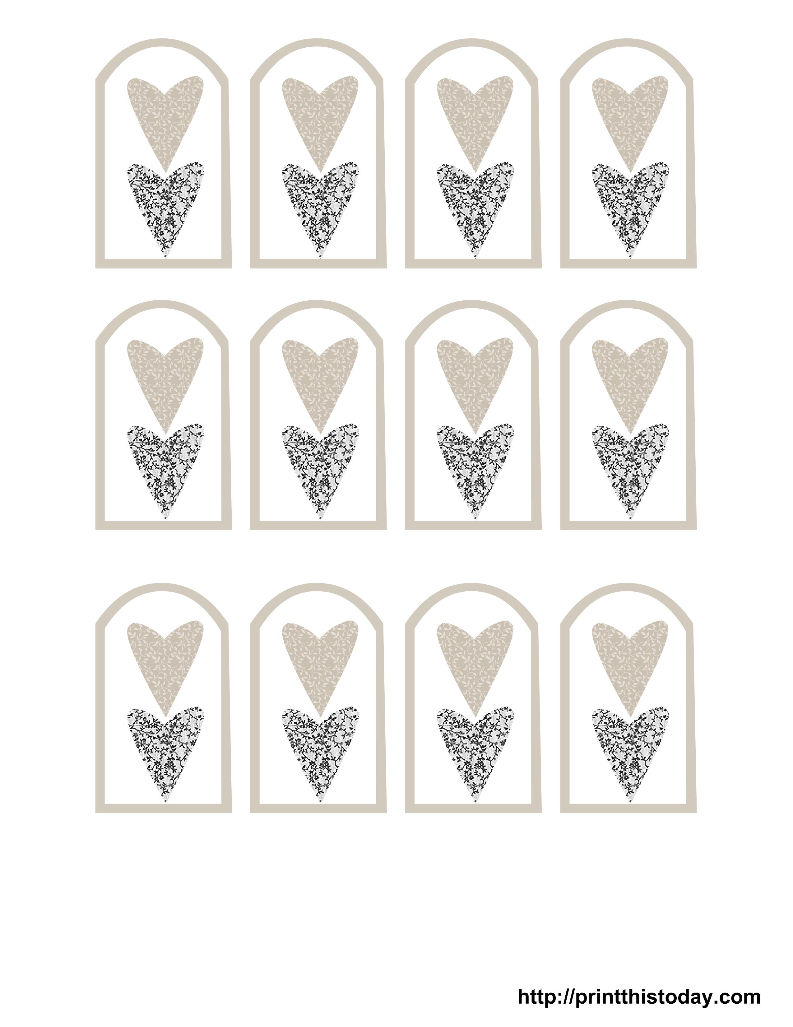 Wedding Gift Tags To Print : Wedding Favor Tags Free PrintableFree Printable Wedding Favor Tags ...