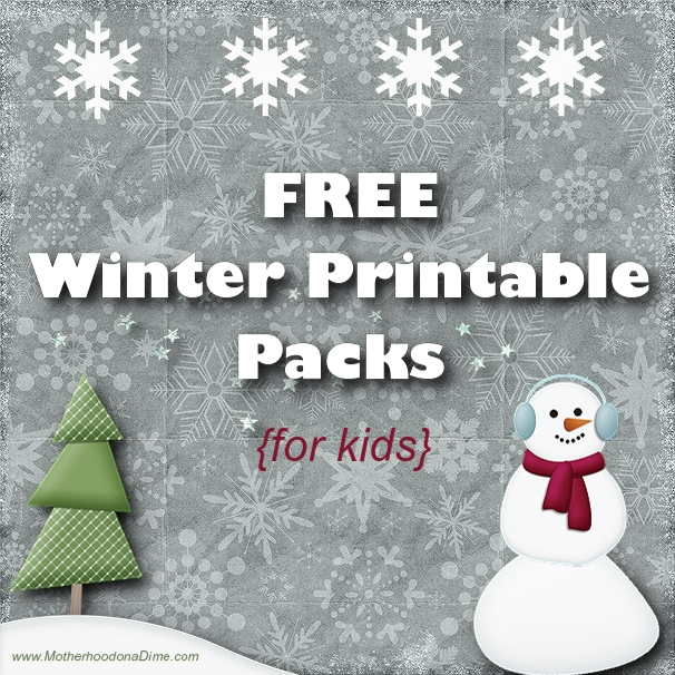 6 Images of Work Winter Theme Printables
