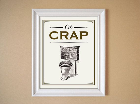 8 best images of funny vintage bathroom art printables for Vintage bathroom printables