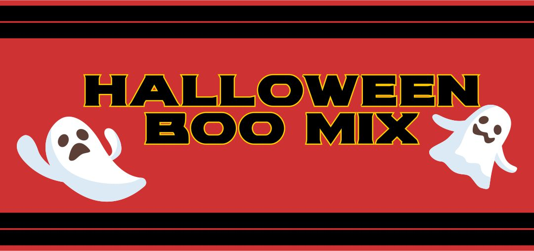 5 Images of Printable Halloween Boo Mix