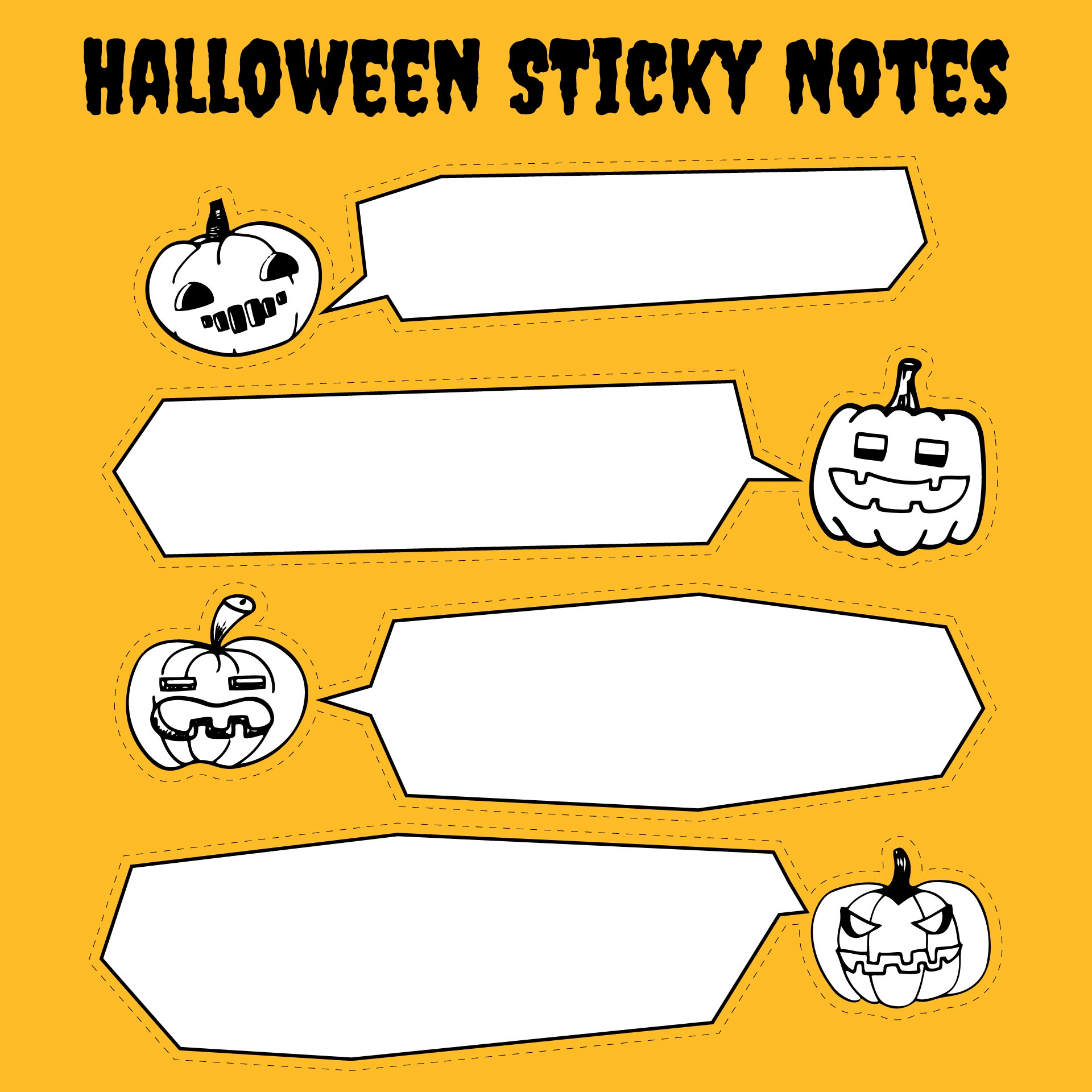 Halloween Crafts and Printables