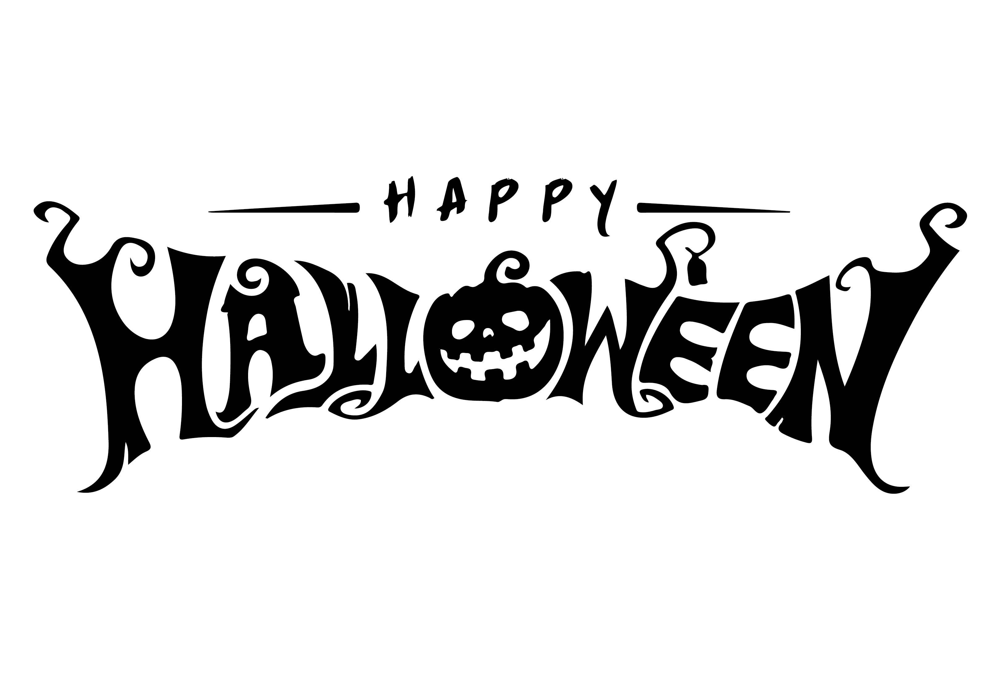 7 Images of Happy Halloween Free Printable Letters
