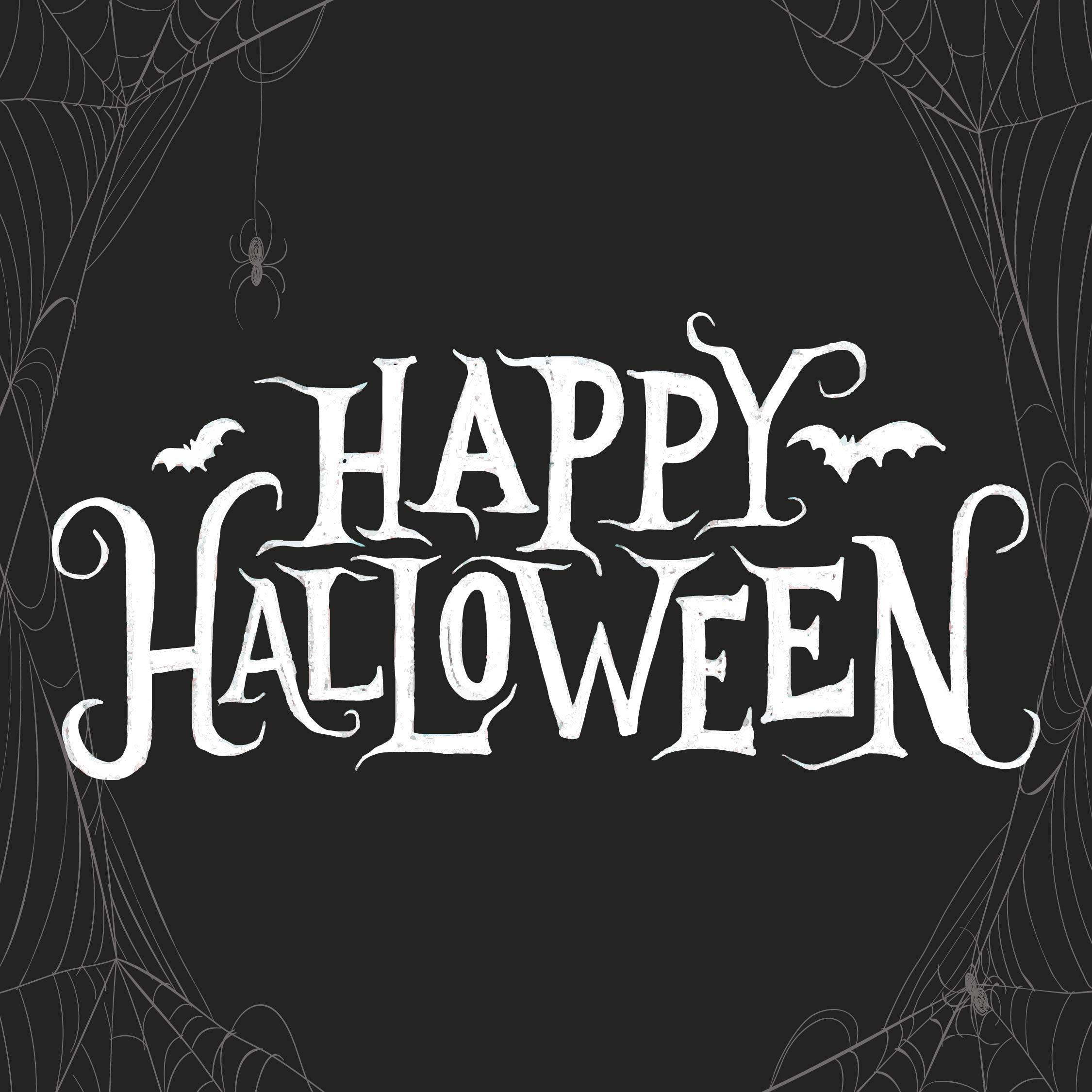 Happy Halloween Banner Printable