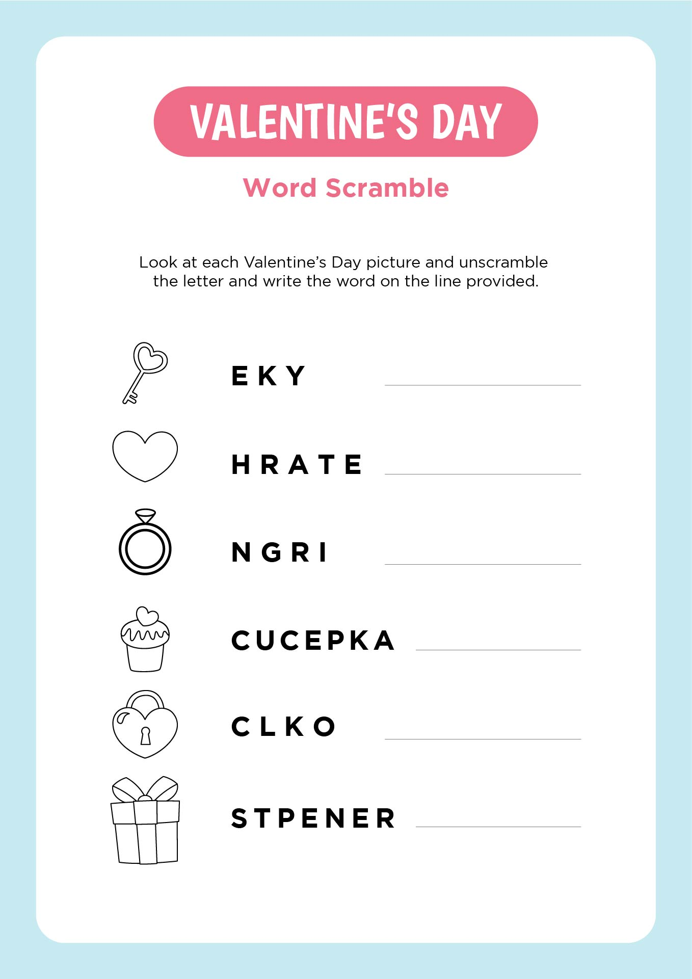Free Valentine Printables Worksheets - printable valentines day math board games heart counting ...