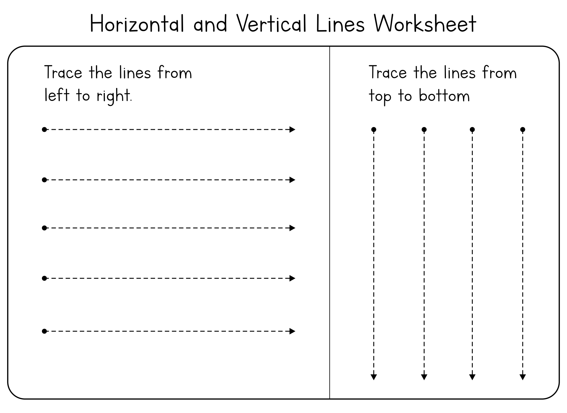 7 Best Images of Line Tracing Worksheets Free Printable ...
