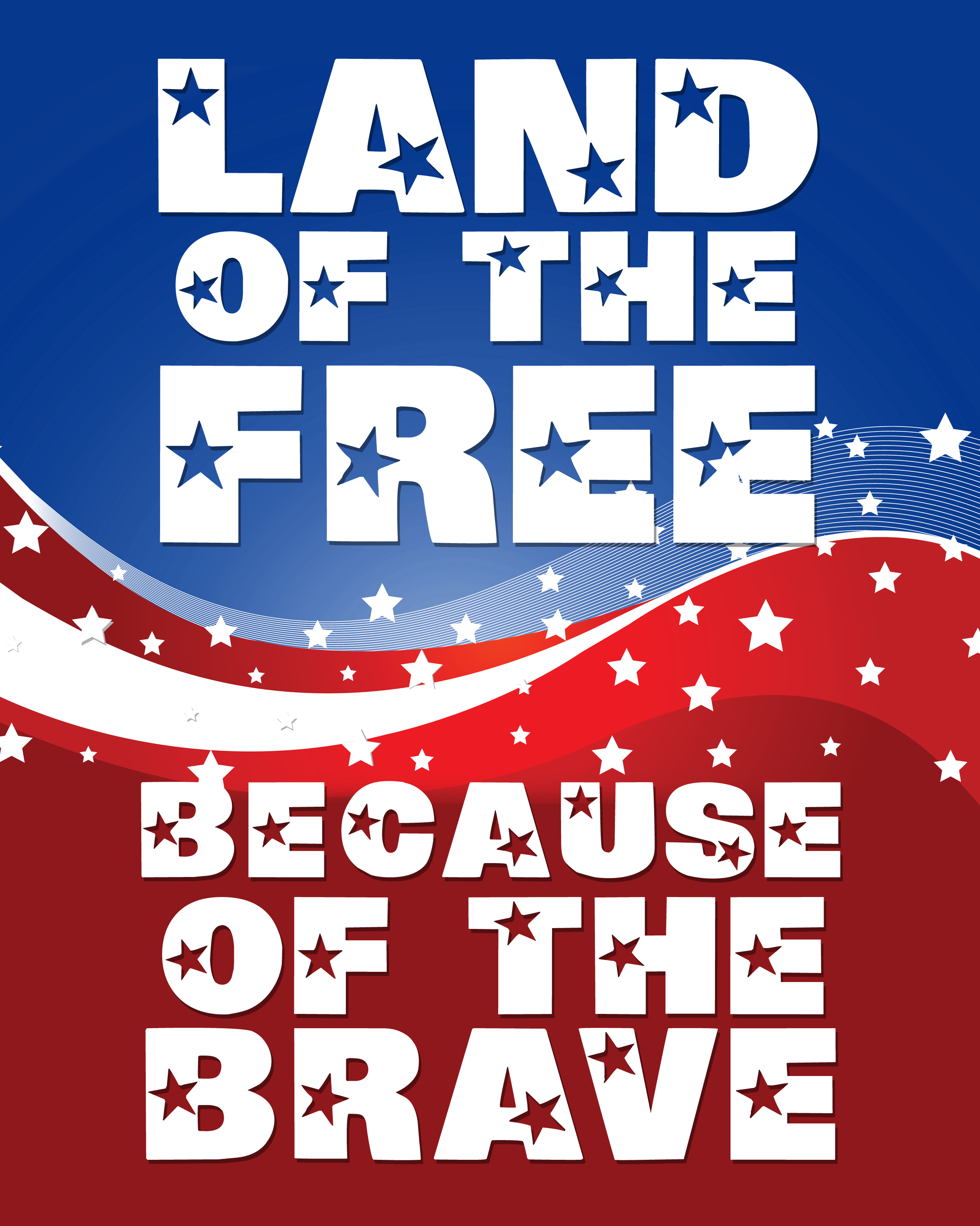 7 Images of Happy Memorial Day Printable