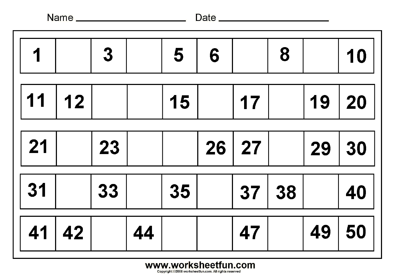 Best Images of Free Printable Missing Numbers 1 100 Worksheet ...