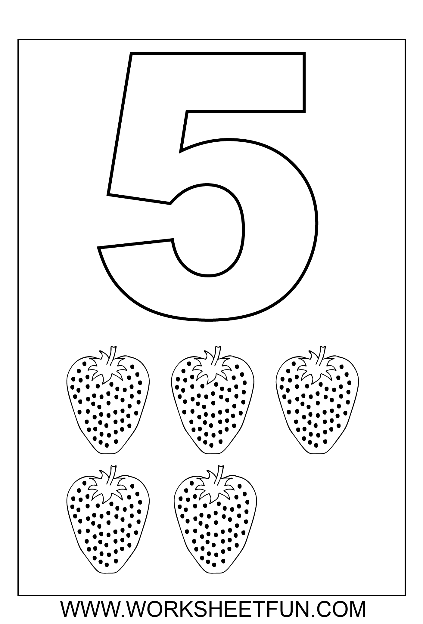 Number Worksheets For Preschool 1 5 Preschooler Development – Numbers 1-5 Worksheets Kindergarten
