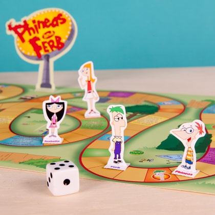 Phineas and Ferb Board Game