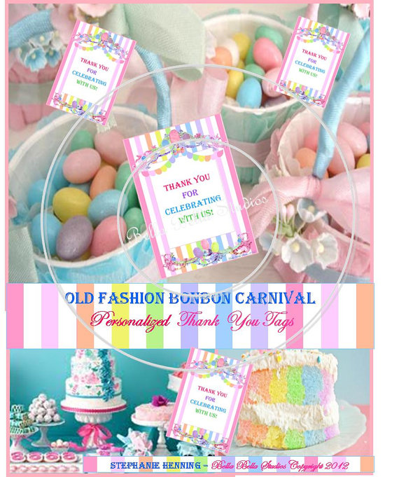 7 Images of Printable Carnival Tags