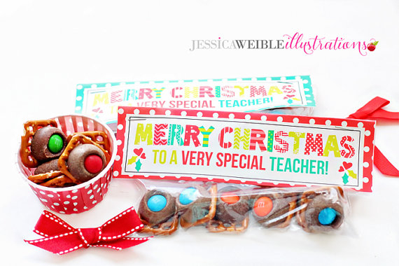 6 Images of Merry Christmas Printable Teacher