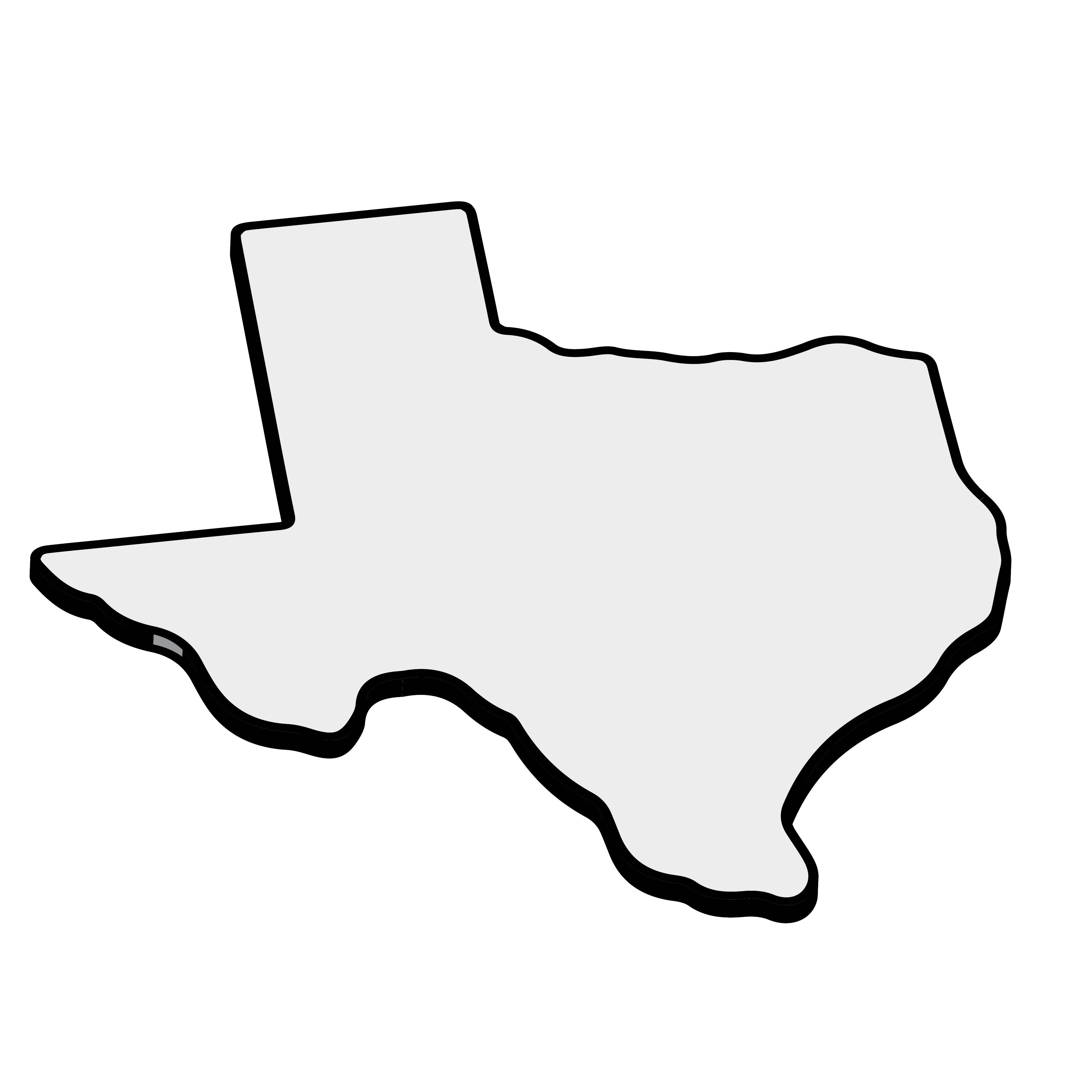 Texas Outline Clip Art