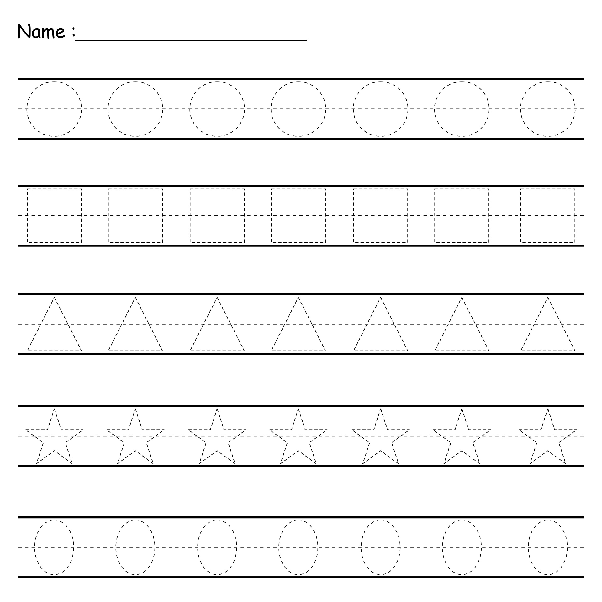 Worksheet Free Tracing Worksheets 7 best images of line tracing worksheets free printable lines for preschoolers