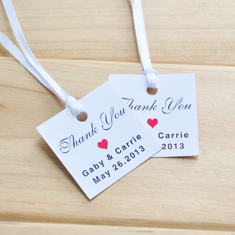 How To Make Wedding Gift Tags : ... Favor Tags, Free Printable Wedding Tags & Wedding Thank You Gift Tags
