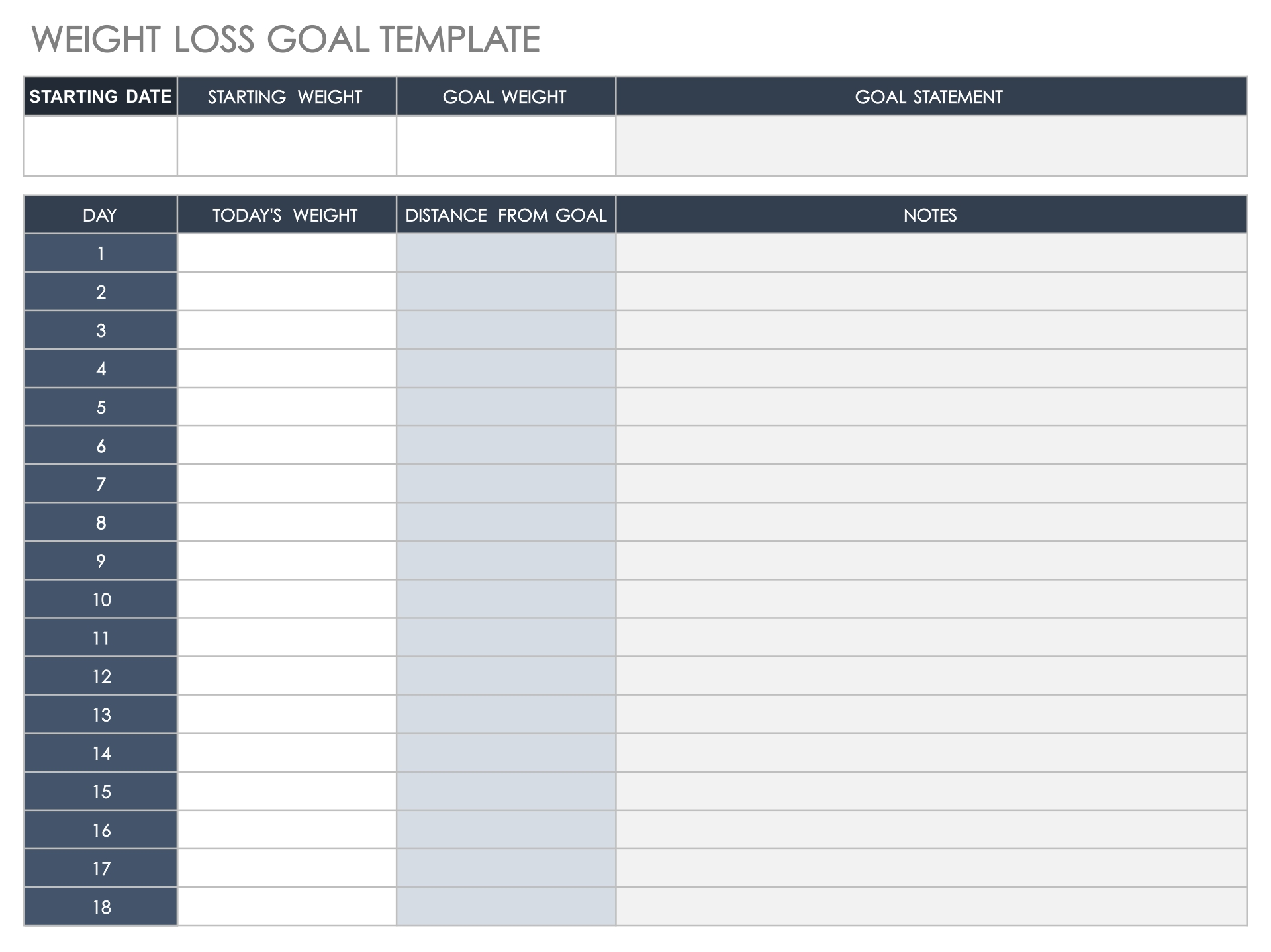 Weight Loss Competition Tracker