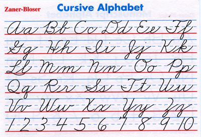 Cursive handwriting fonts << Coursework Help