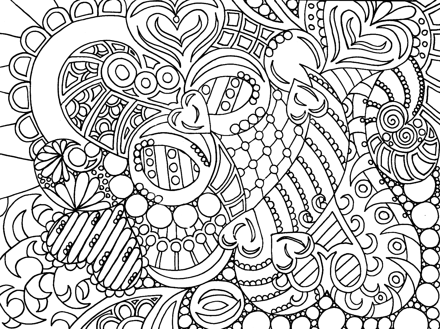 5 Images of Coloring For Adults Printable