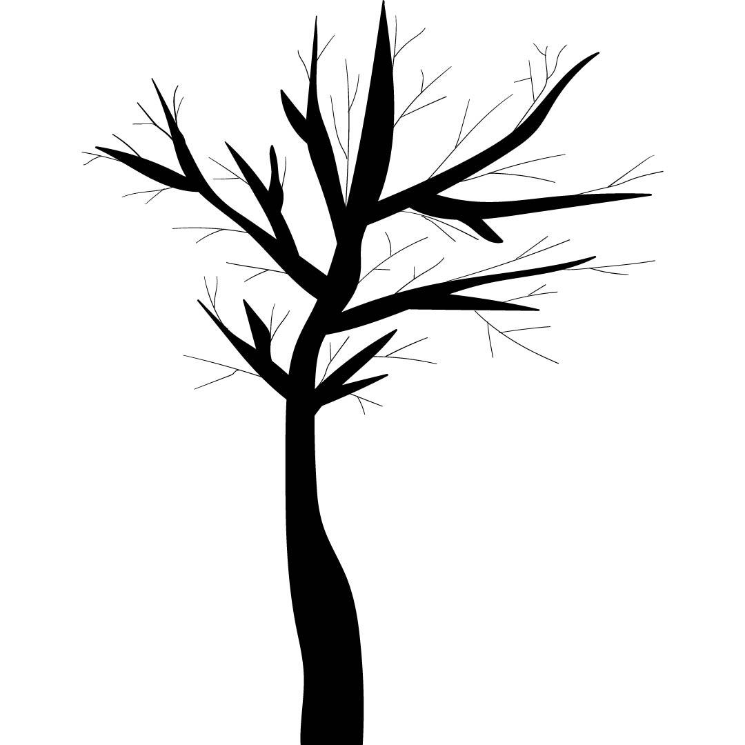 Bare Tree Pattern Printable