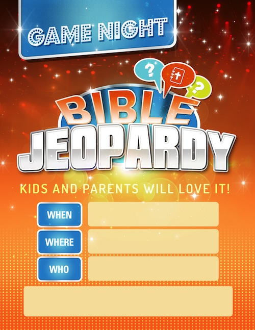 6 Images of Printable Bible Jeopardy Game Questions
