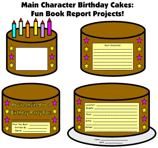 6 Images of Cake Templates Printable