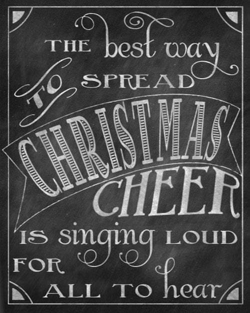 5 Images of Grinch Christmas Chalkboard Printable