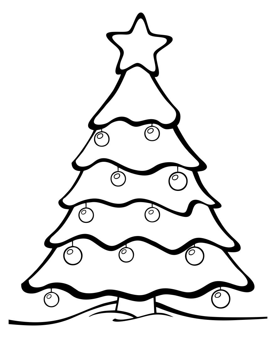 Christmas Tree Ornaments Templates Printable