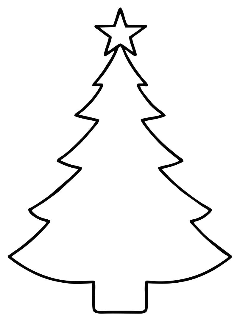 Christmas Tree Stencil Printable