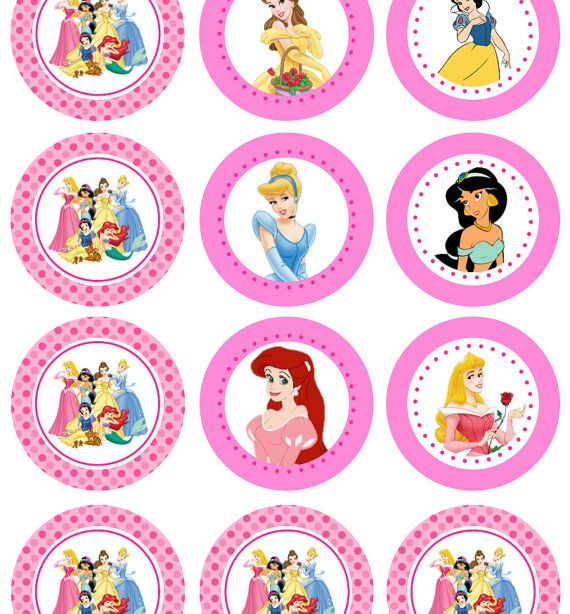 7 Images of Disney Princess Cutouts Printables Free