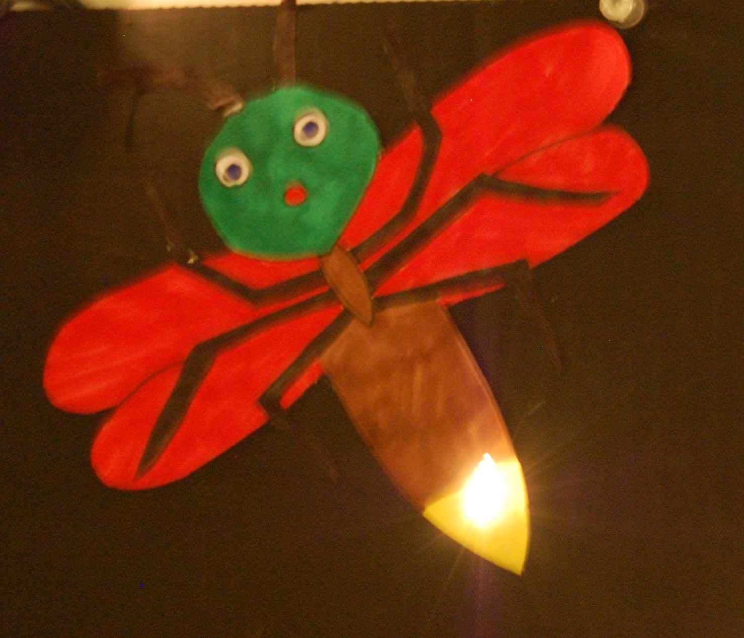 10 Best Images of Printable Firefly Craft - Firefly Craft ...