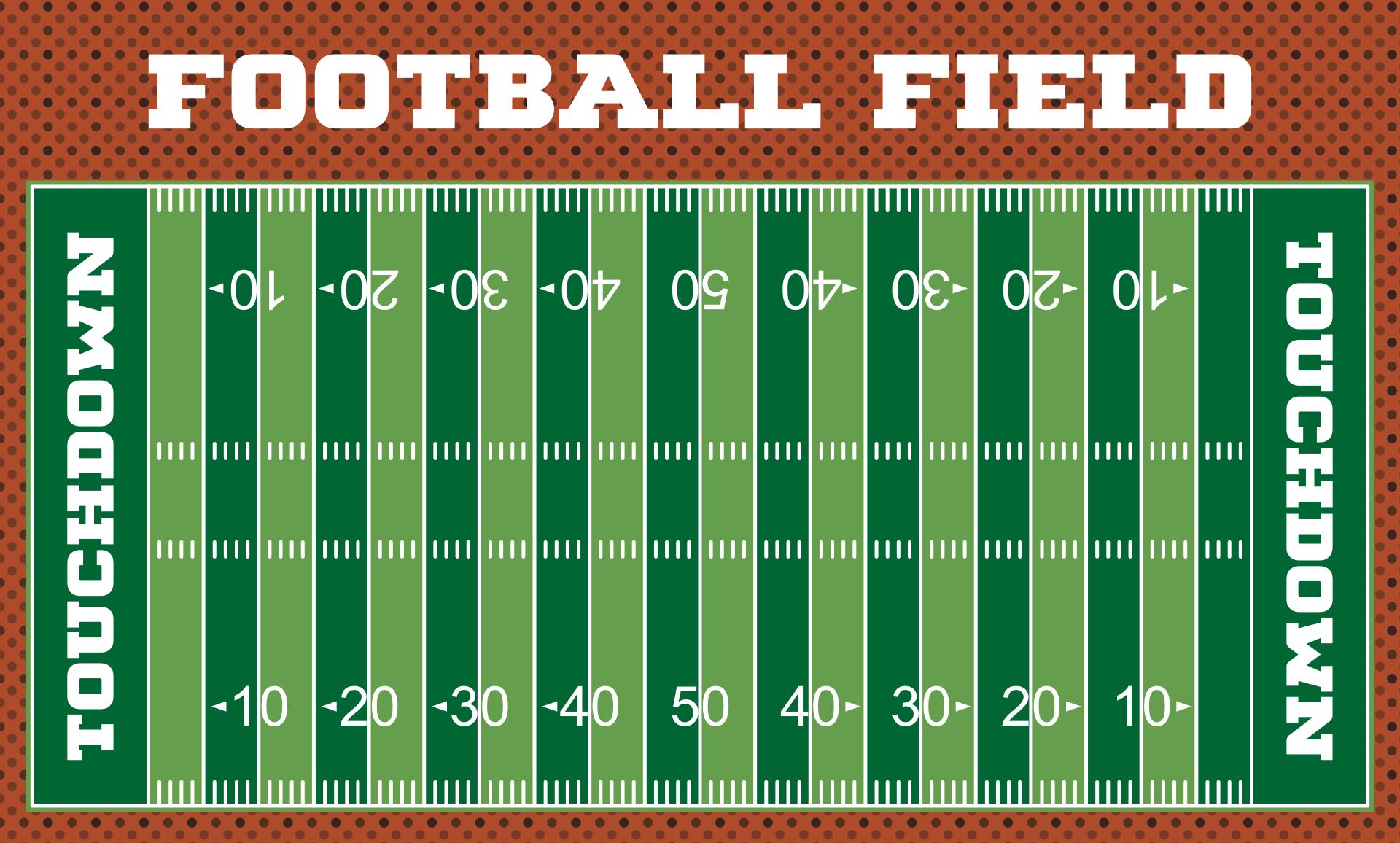 Football Field Diagram Template