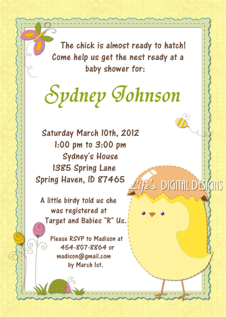 7 Images of Printable Baby Shower Invitations Online
