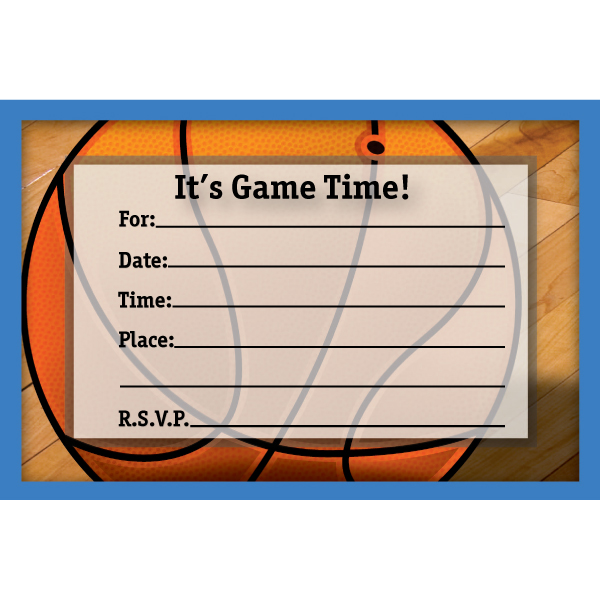 5 Best Images of Free Printable Basketball Birthday ...