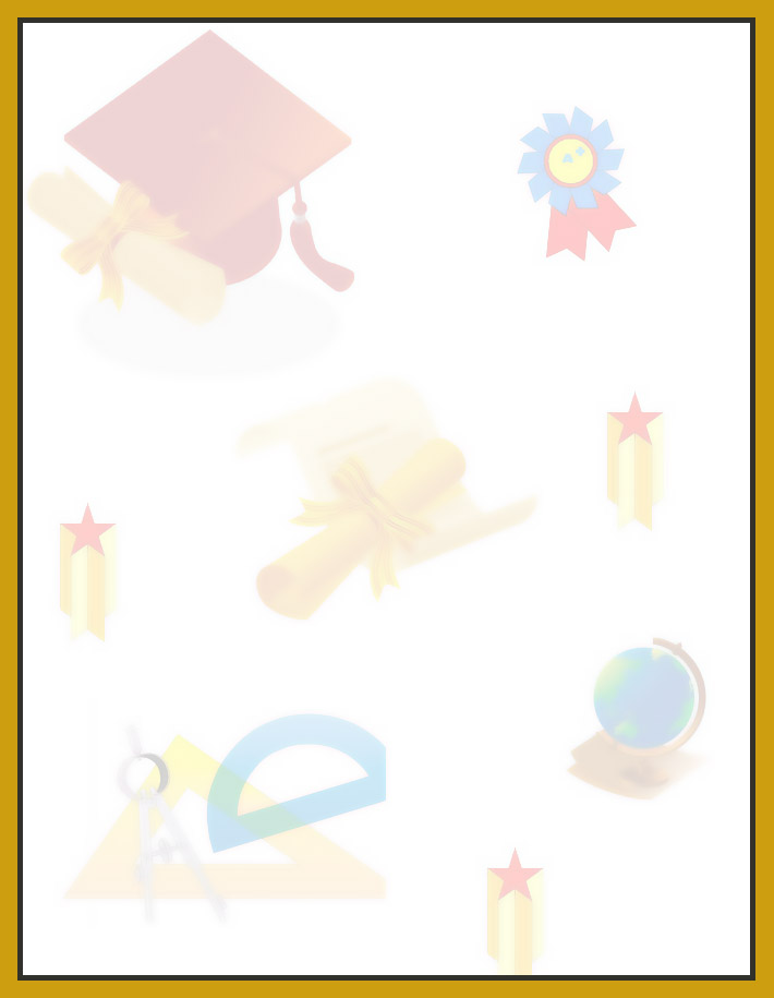 Printable Graduation Stationery