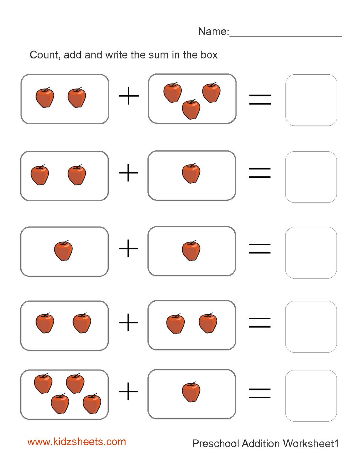 Worksheet Preschool Free worksheet preschool printables free mikyu 6 best images of printable school worksheets addition worksheets