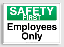 5 Images of Free Printable OSHA Safety Signs
