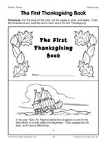 6 Images of Printable Mini Books First Grade