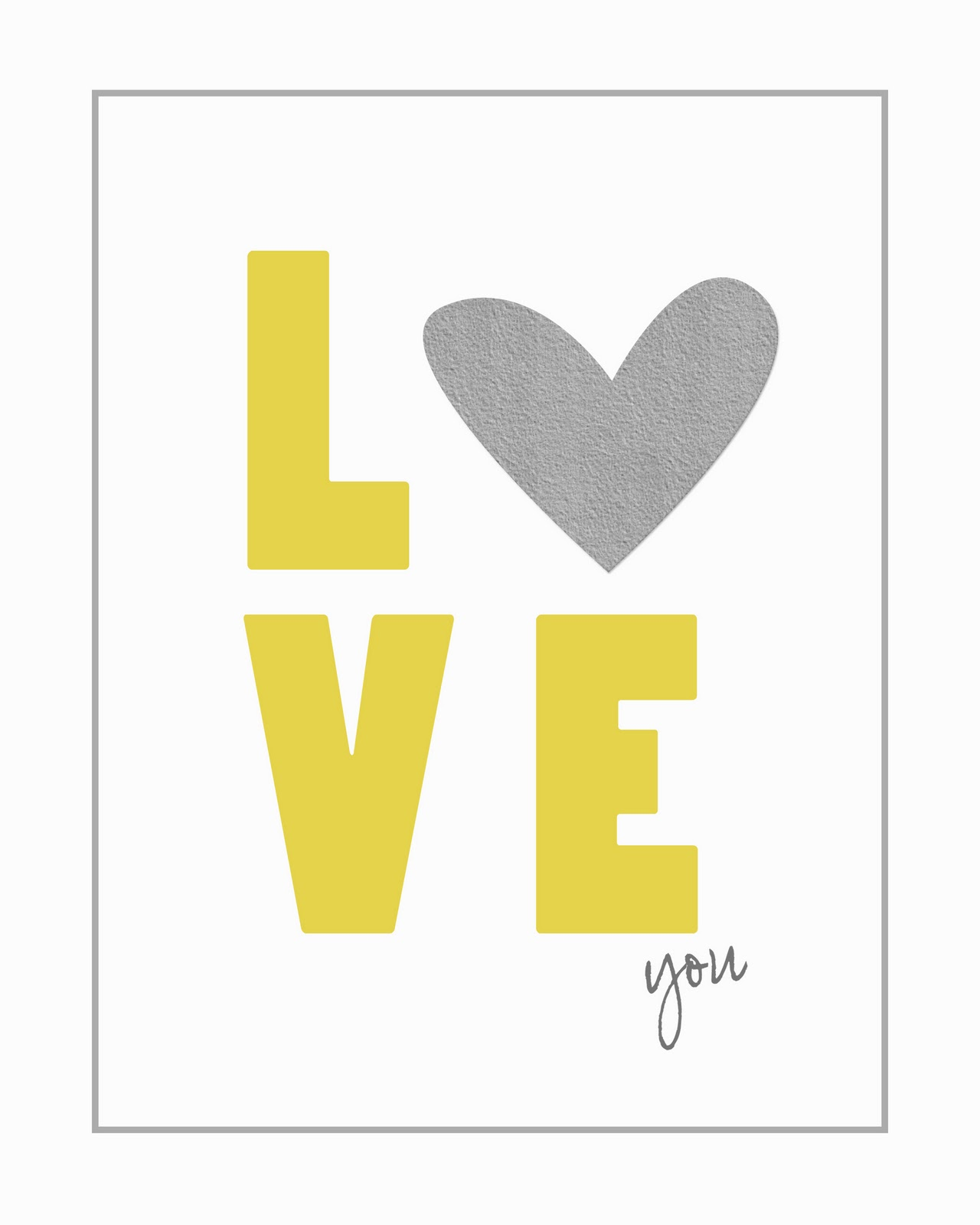 Free Printable Wall Art 8X10