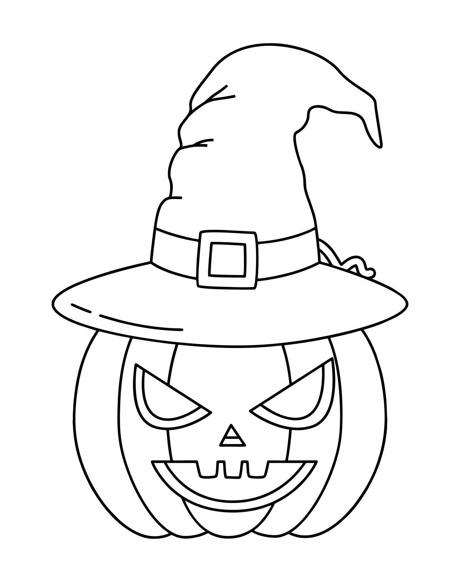 Funny Halloween Coloring Pages Printables